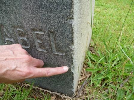Tombstone Damage Caused By Lawn Equipment