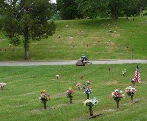 cemetery mowing grounds maintenance