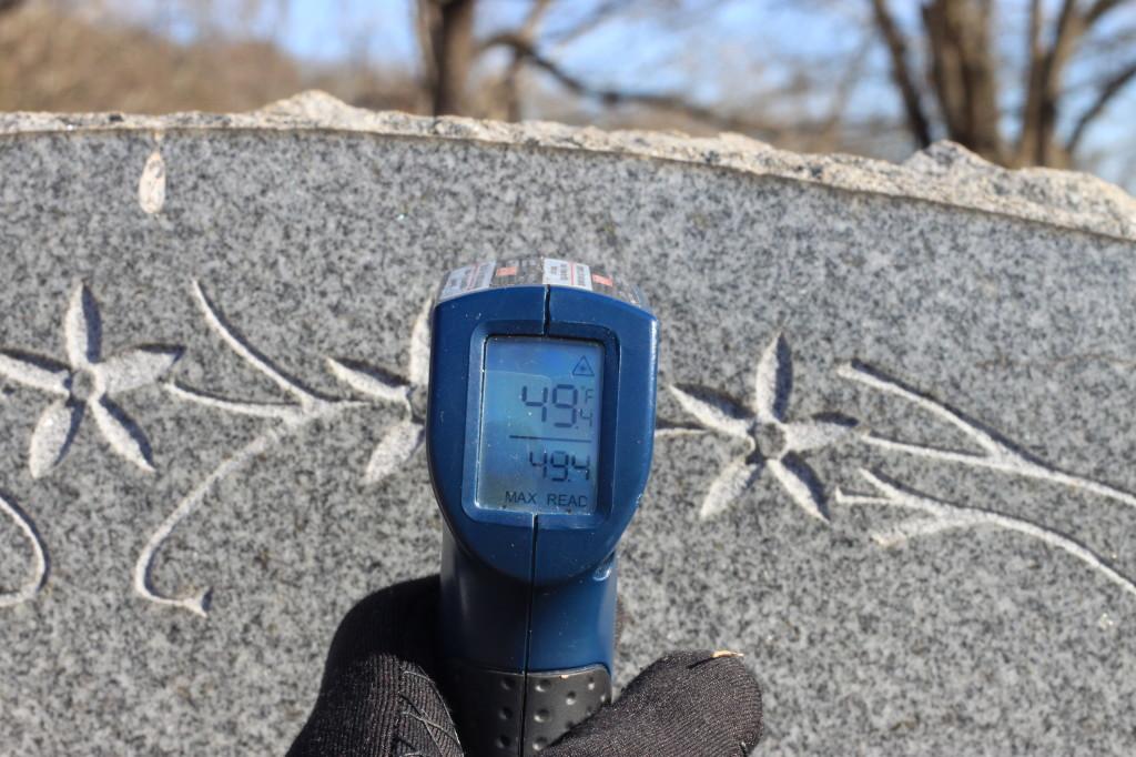 Granite Tombstone 2