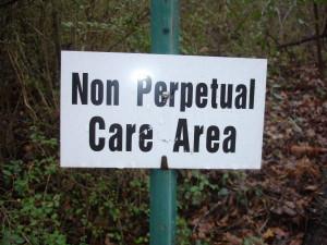 Non-perpetual Care Cemetery